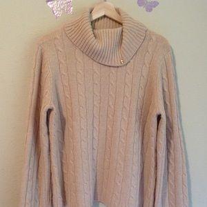 346 brooks brother women's sweater, lambwool